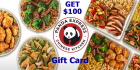 Get a 100$ Panda Express giftcard to spend!