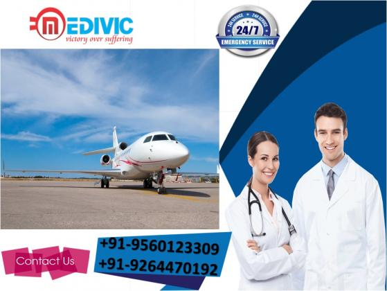 Select Phenomenal ICU Air Ambulance Services in Mumbai by Medivic