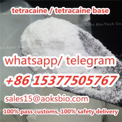 best quality tetracaine hydrochloride, raw tetracaine hcl powder to Brazil