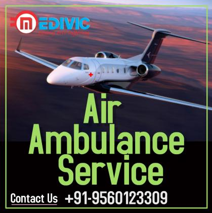 Hire ICU Care Commercial Air Ambulance Service in Patna by Medivic