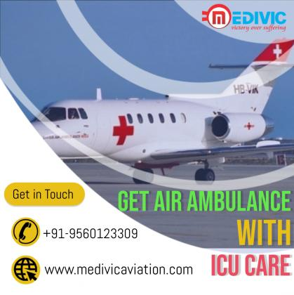 Reliable Transportation by Medivic Air Ambulance Service in Kolkata