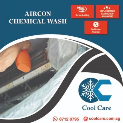 Aircon Chemical Wash / Aircon Servicing